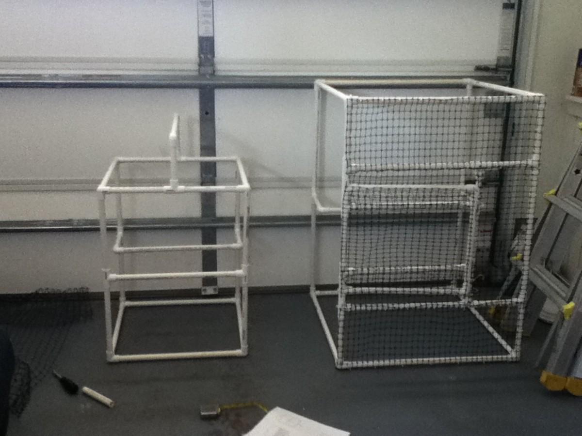 2 Sizes Of PVC Enclosures