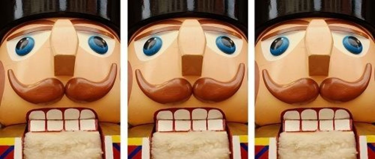 Nutcracker Face