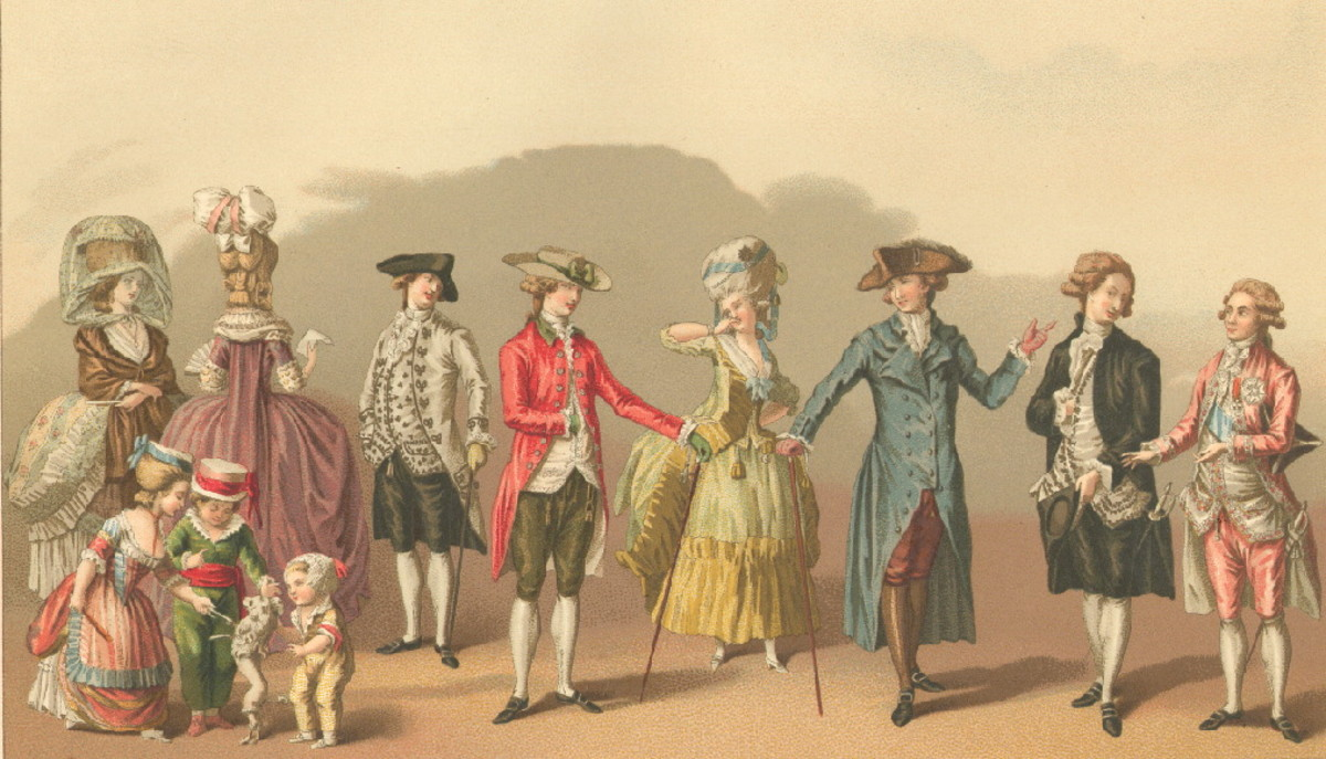 18TH CENTURY FRENCH FASHION