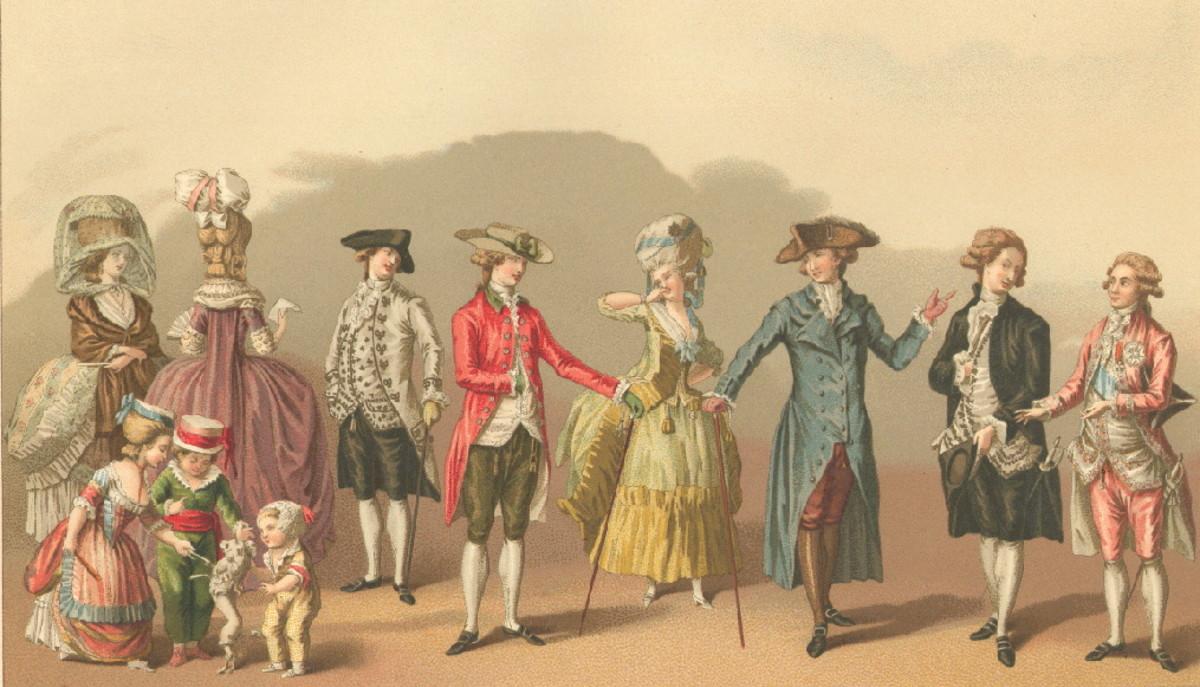 18TH CENTURY FRENCH FASHION