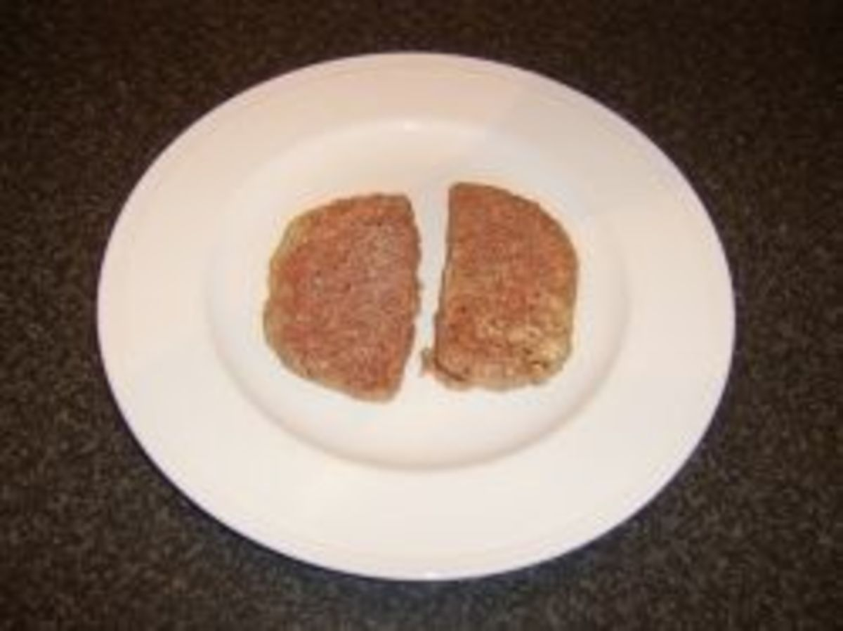 Homemade Lorne sausages
