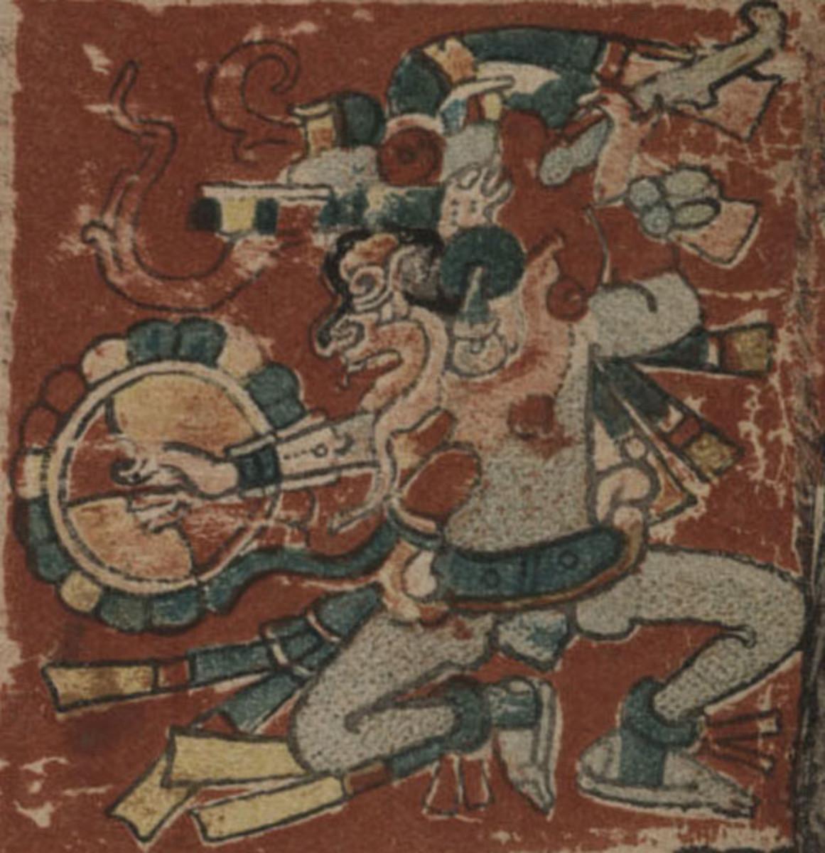 Venus, the Maya Dresden Codex