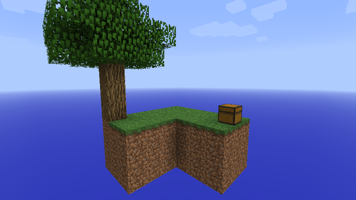 SkyBlock Minecraft Survival Island Map