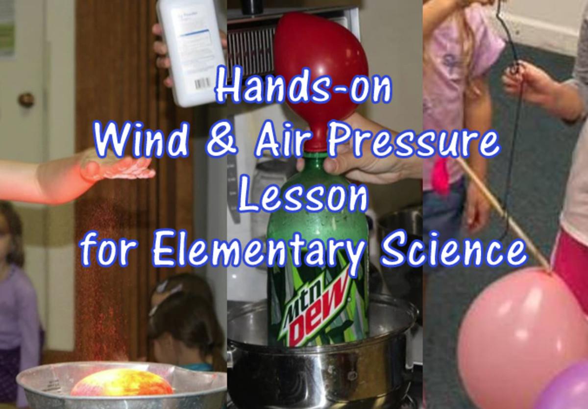 Wind & Air Pressure Lesson