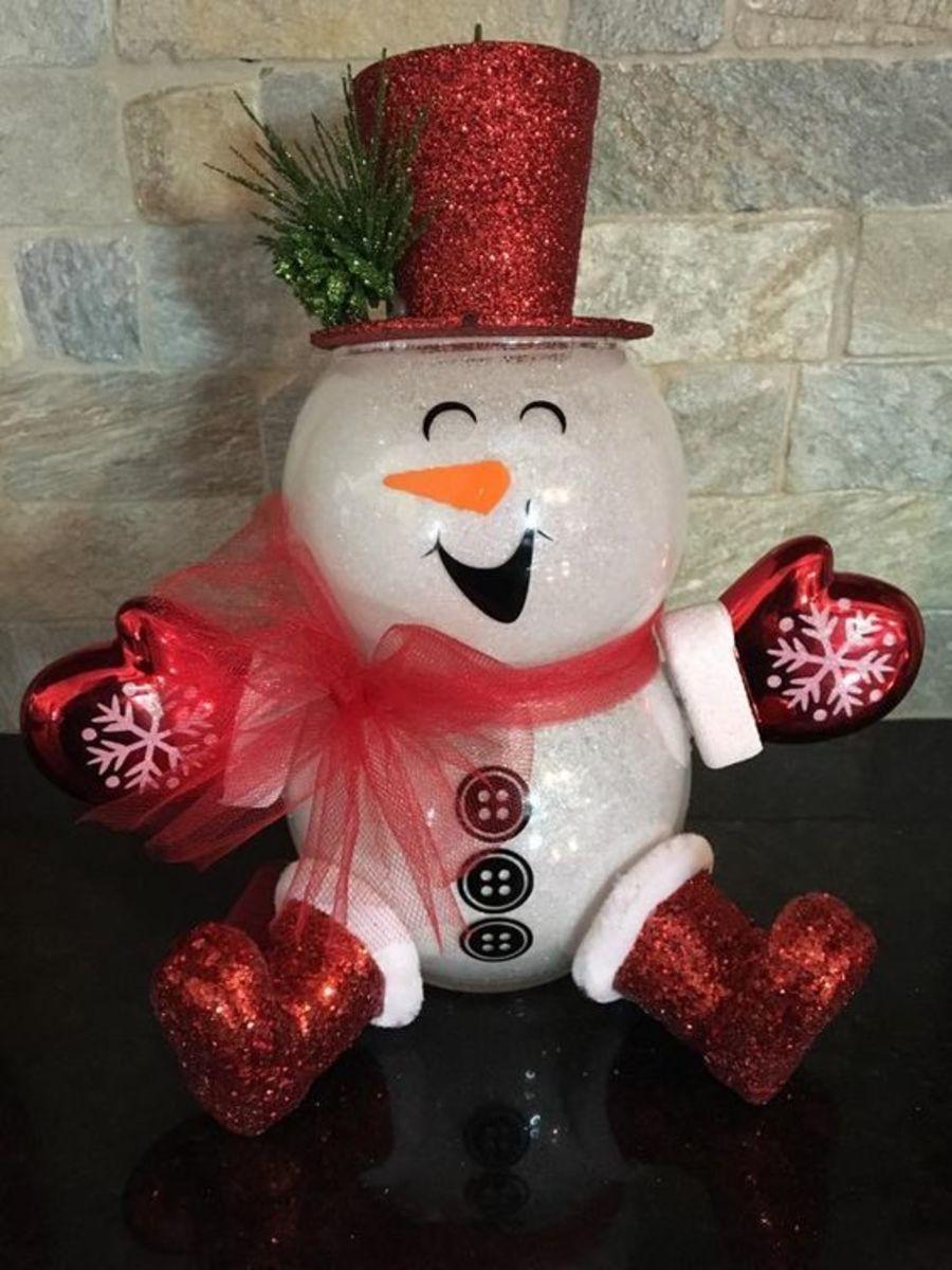 fish-bowl-snowman-ideas