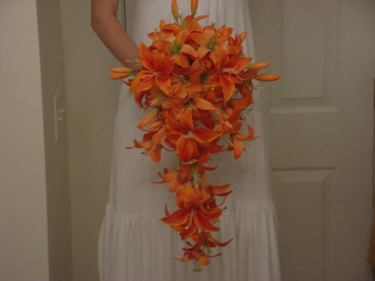 Tiger Lily Wedding Bouquet Lily Bouquets For Weddings