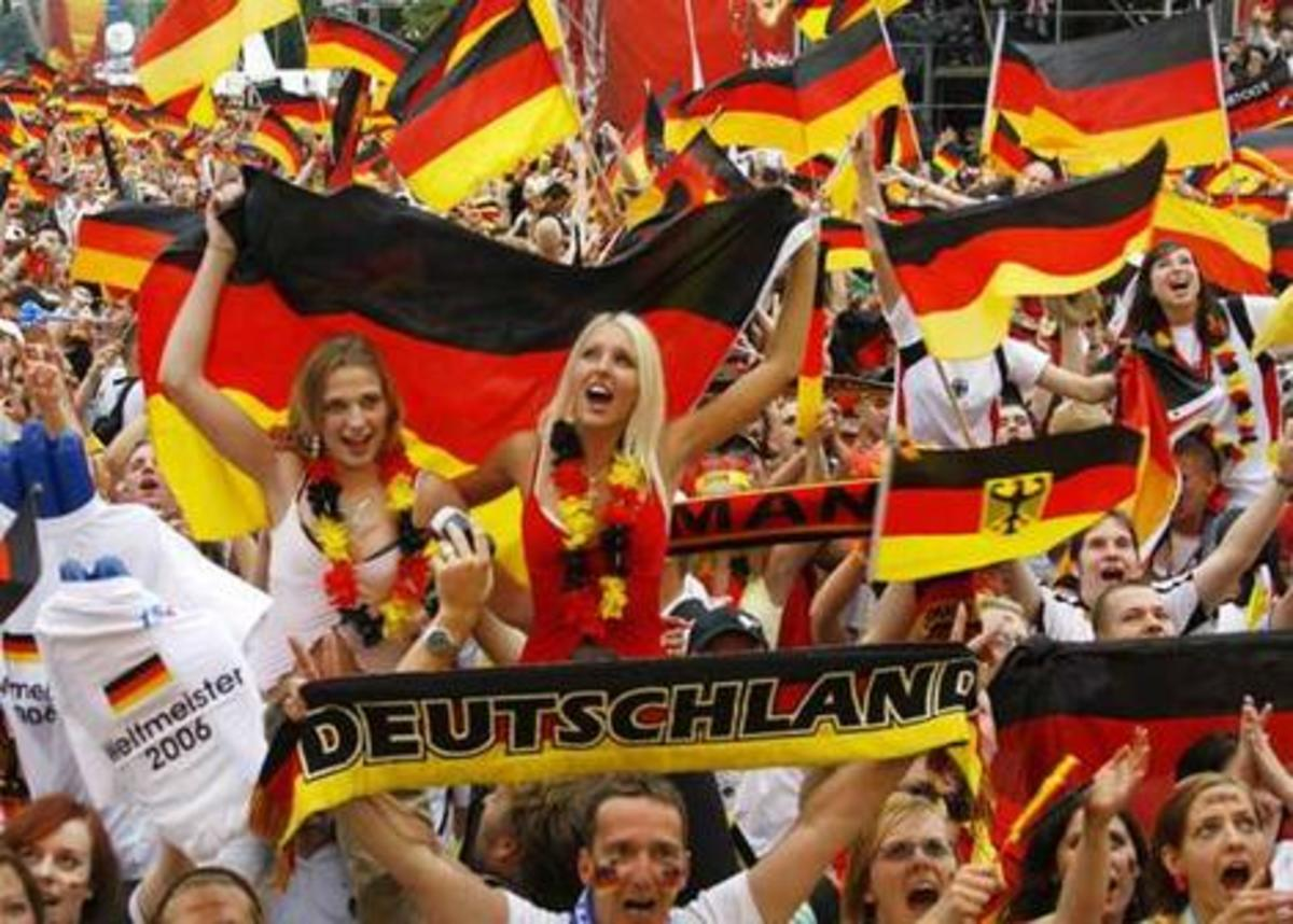 German national pride was clearly shown during the World Cup