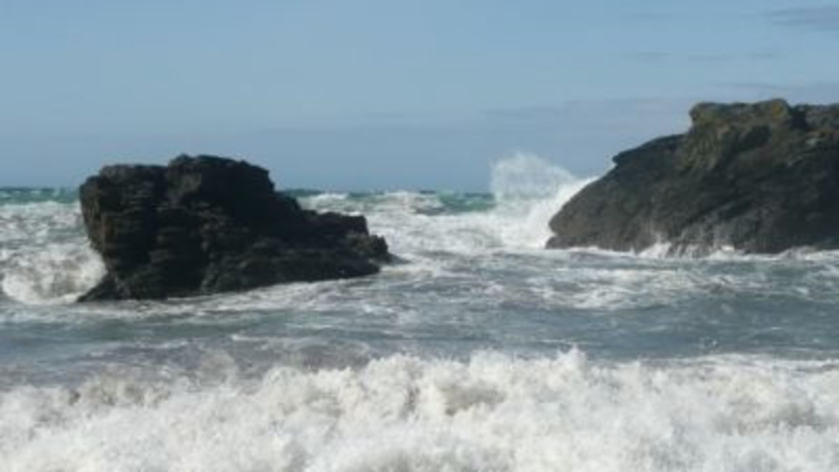 Wild Seas of Tintagel