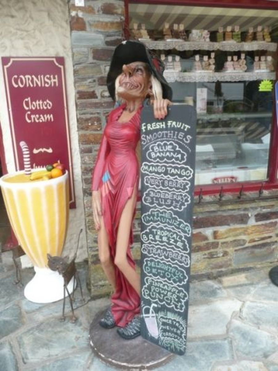 Anyone for smoothies? Bewitchingly good treats in Tintagel Village