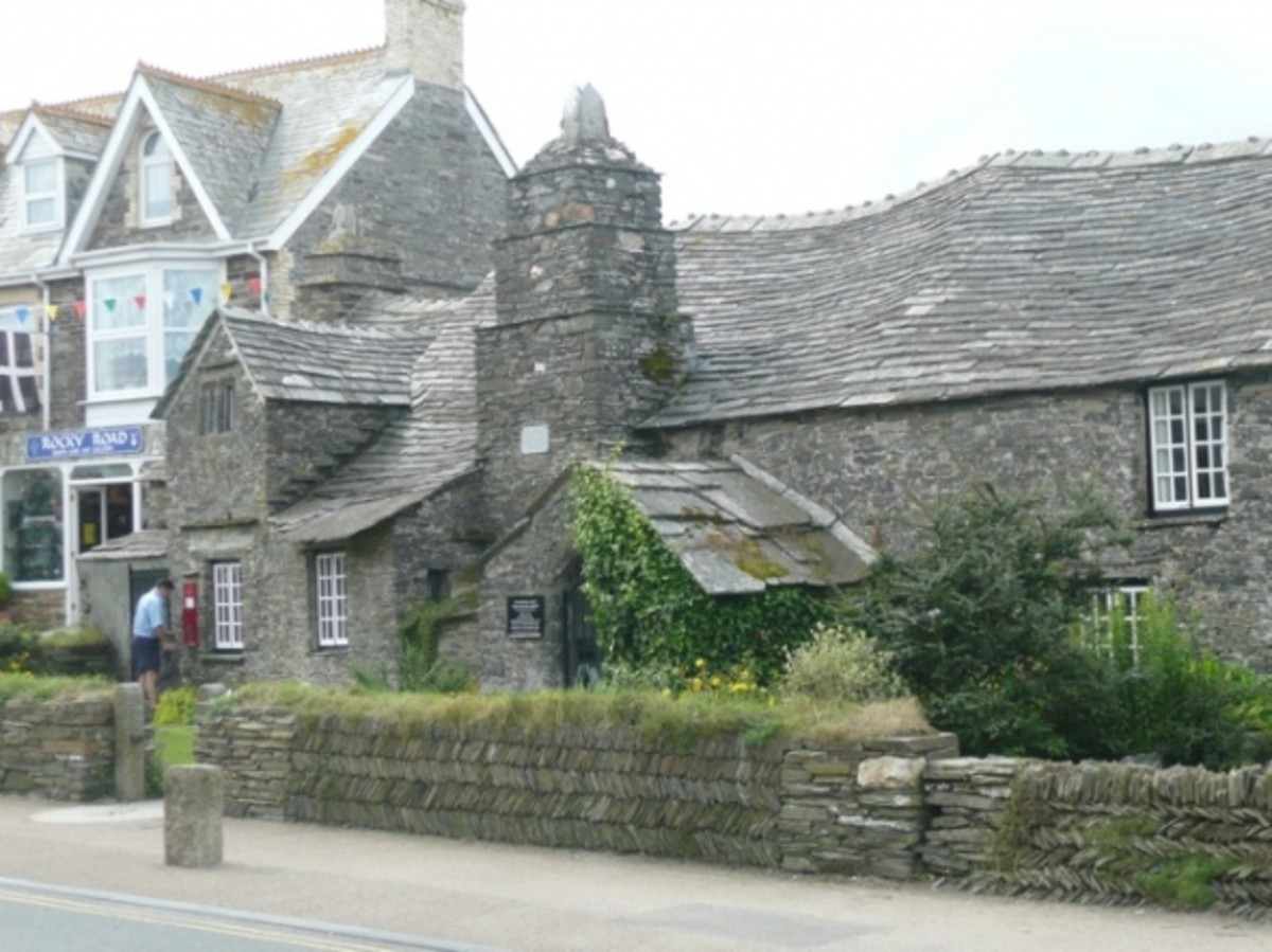 The Old Post Office in Tintagel Village is another interesting place to visit