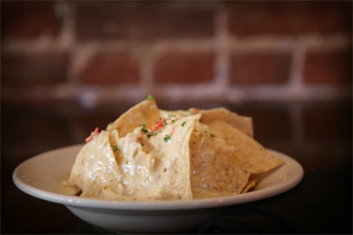 Tony's on mainstreet secret White Chicken Nacho Recipe