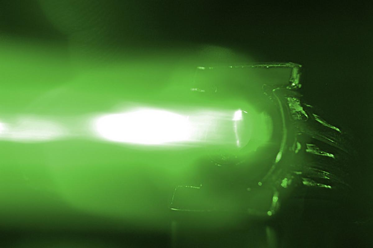 Green Lantern Ring in Action