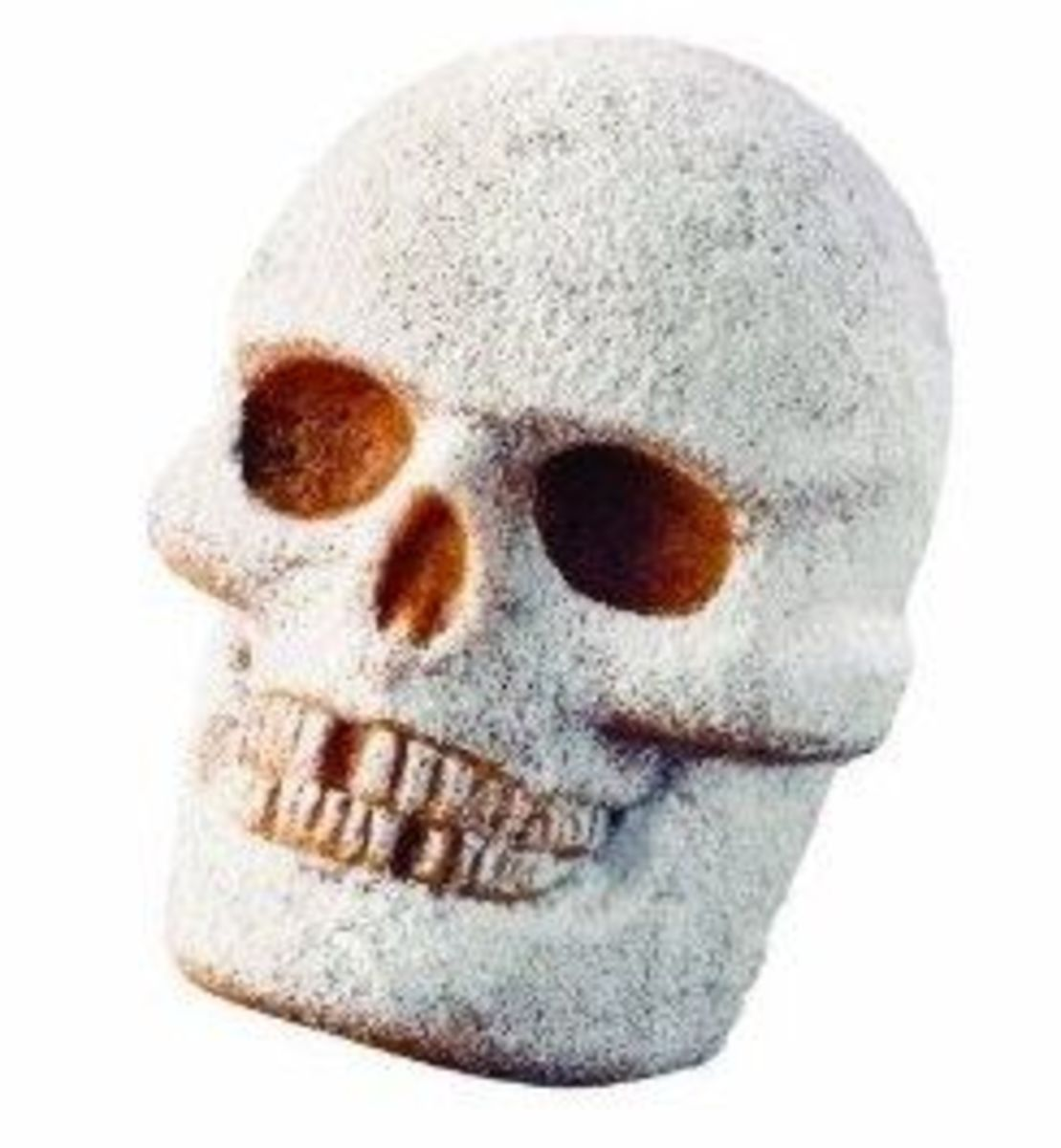 Powdered Face Skull Cake