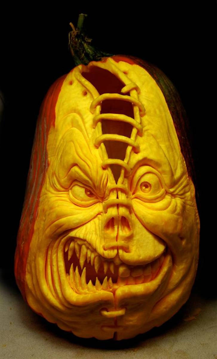 Amazing Pumpkin Carving Designs