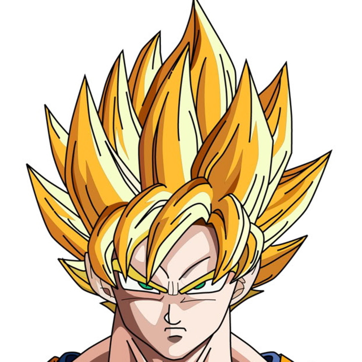 Goku spiky hair