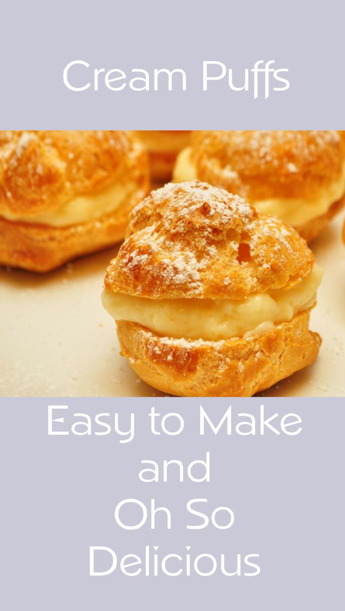 how to make choux cream puffs