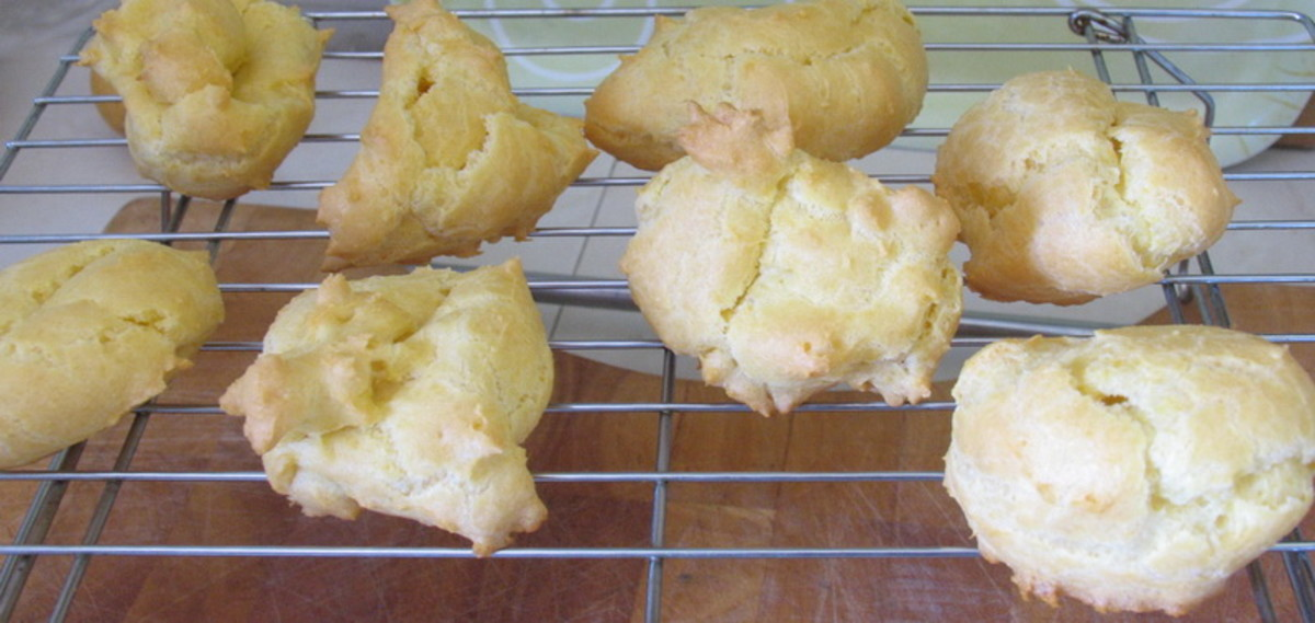 cooling cream puffs
