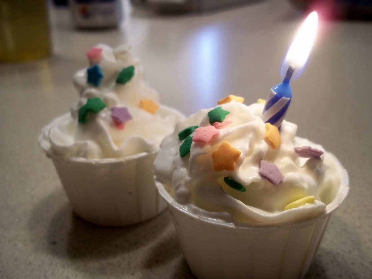 Birthday Cake Pudding Shot