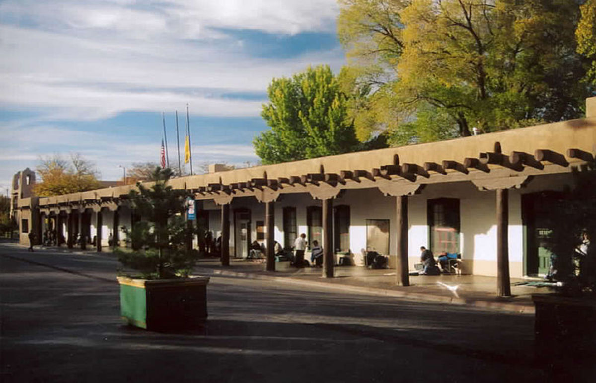 The Palace of the Governors - Santa Fe, New Mexico