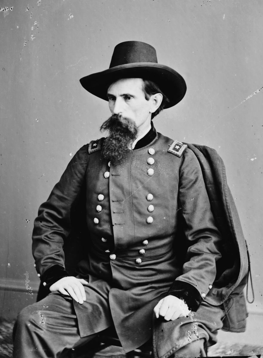 Gen. Lew Wallace - Matthew Brady ca. March 21st, 1862