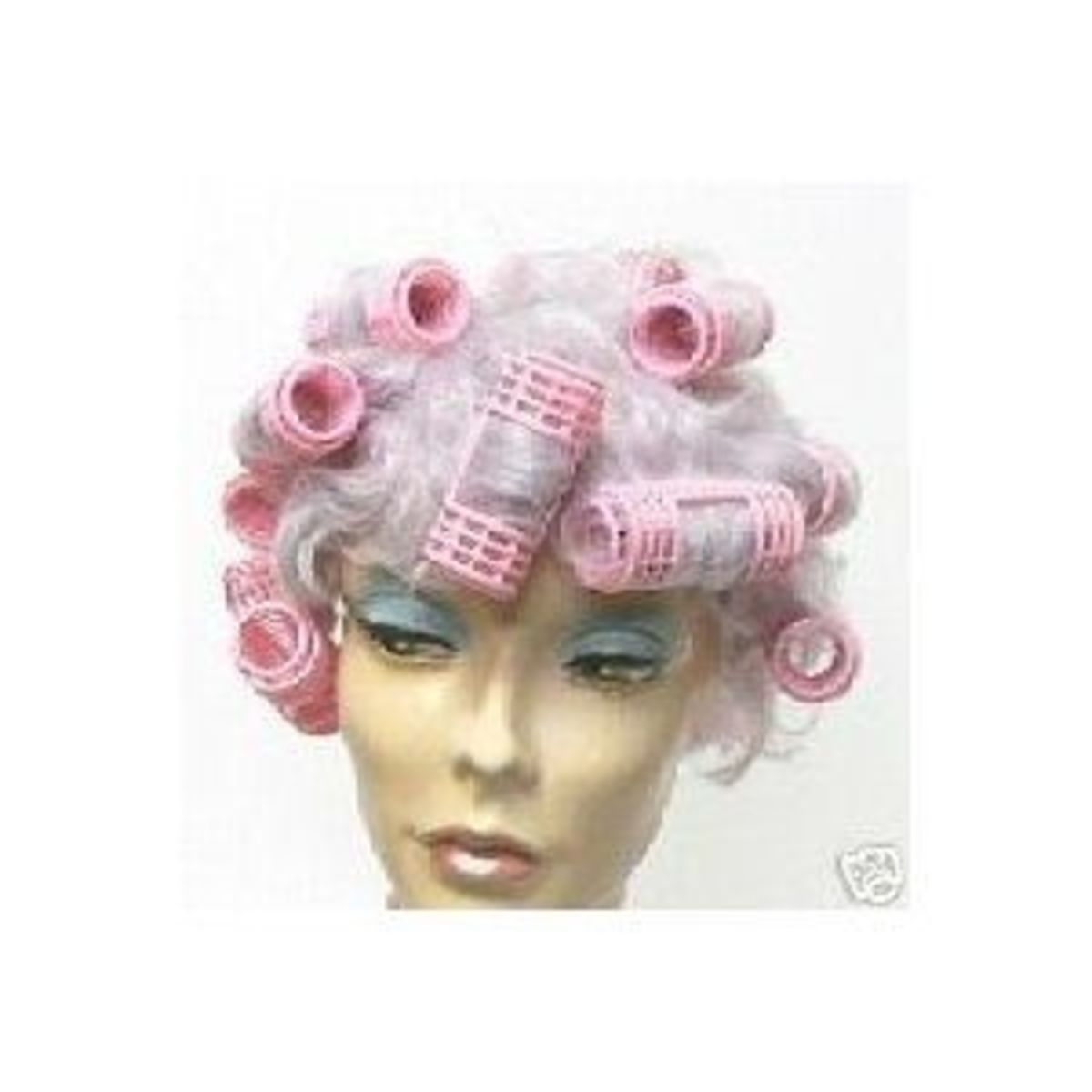 Try pink curlers.
