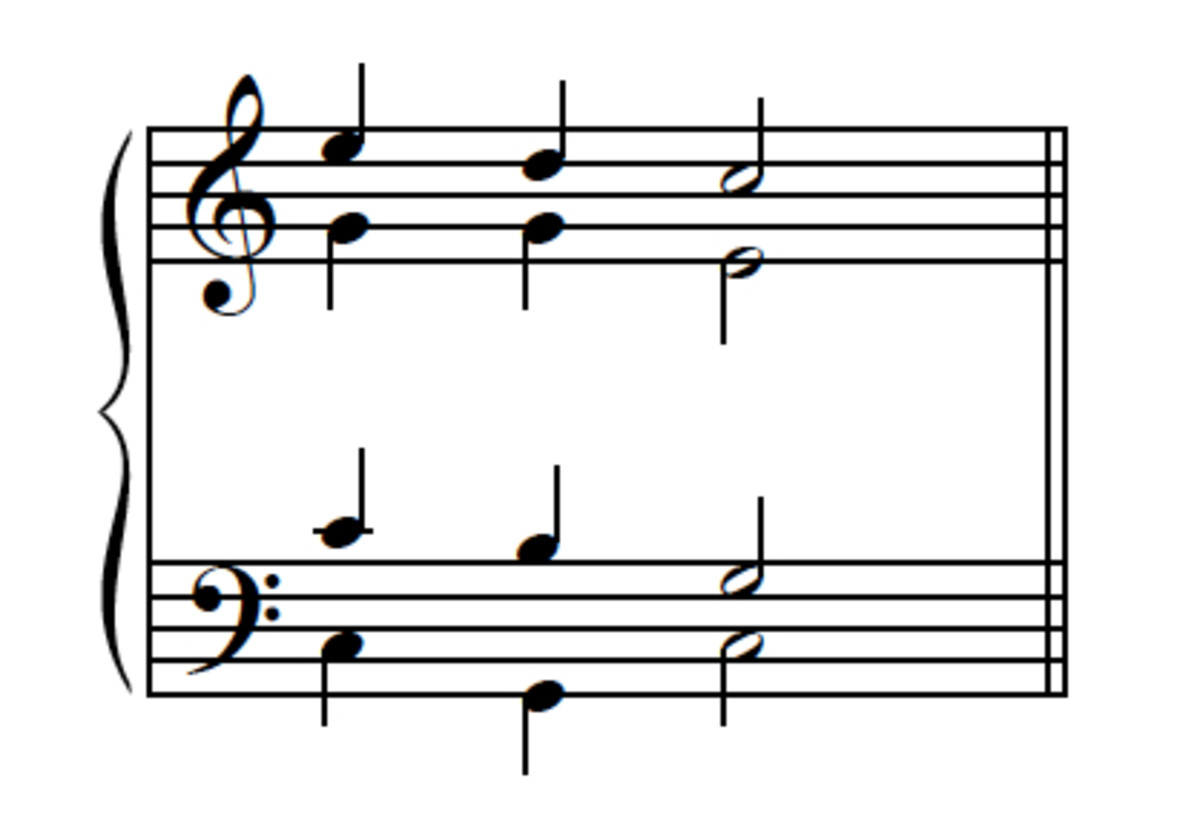 Example 9--Passing-tone version, reversed.