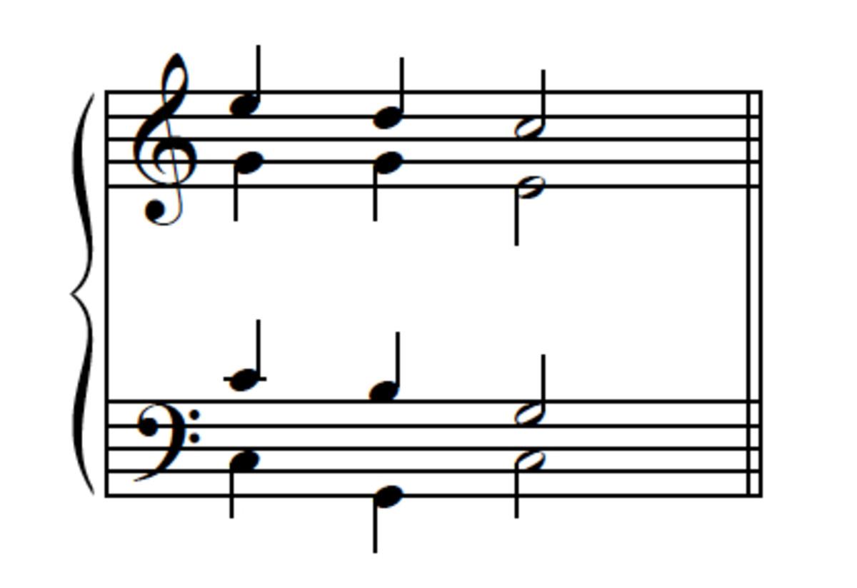 Example 9--Passing-tone version, reversed.