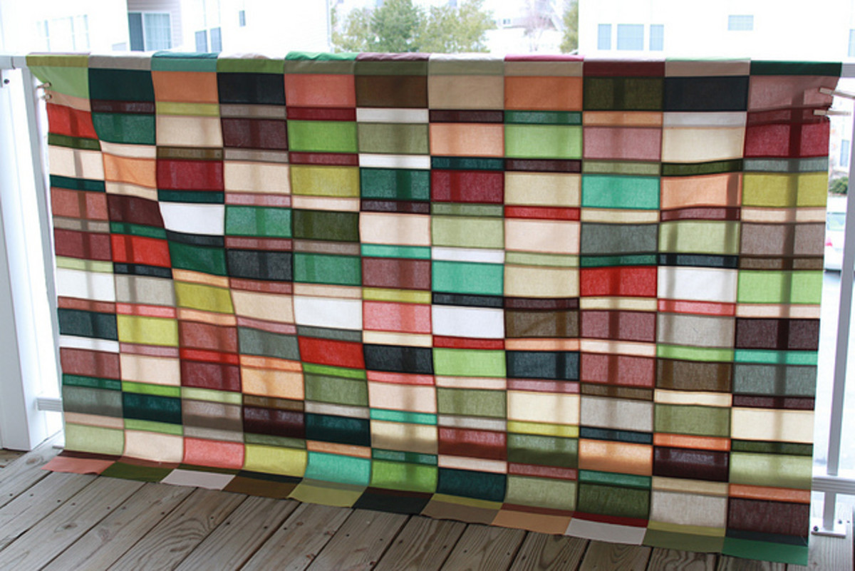 Modern quilts use simple shapes, and focus on color, balance and technical skills.