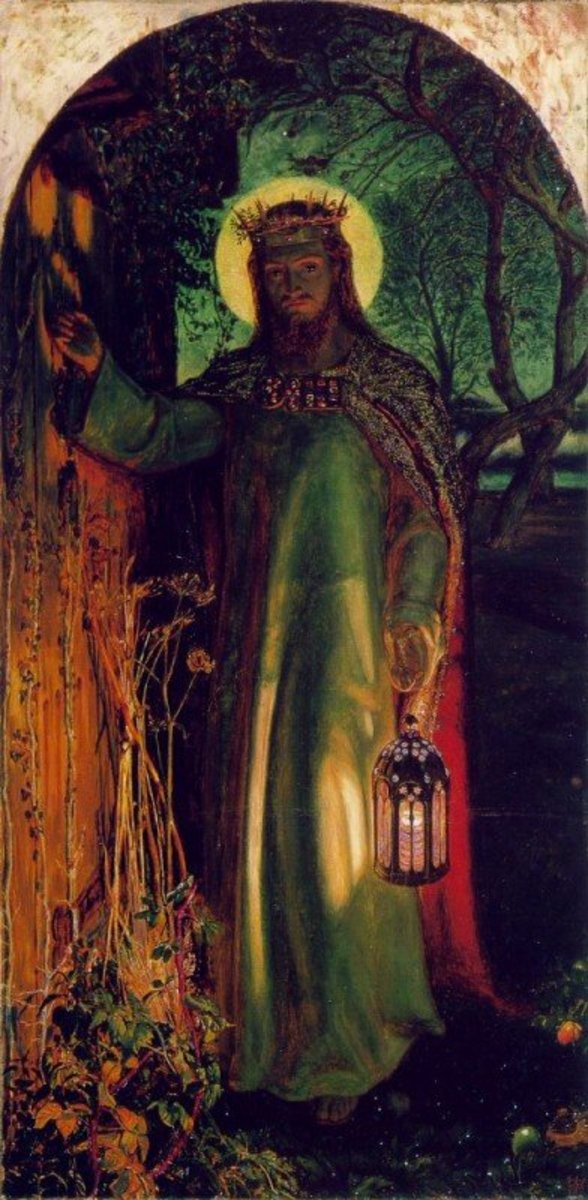 The Light of the World, James Holman Hunt (1827-1910)