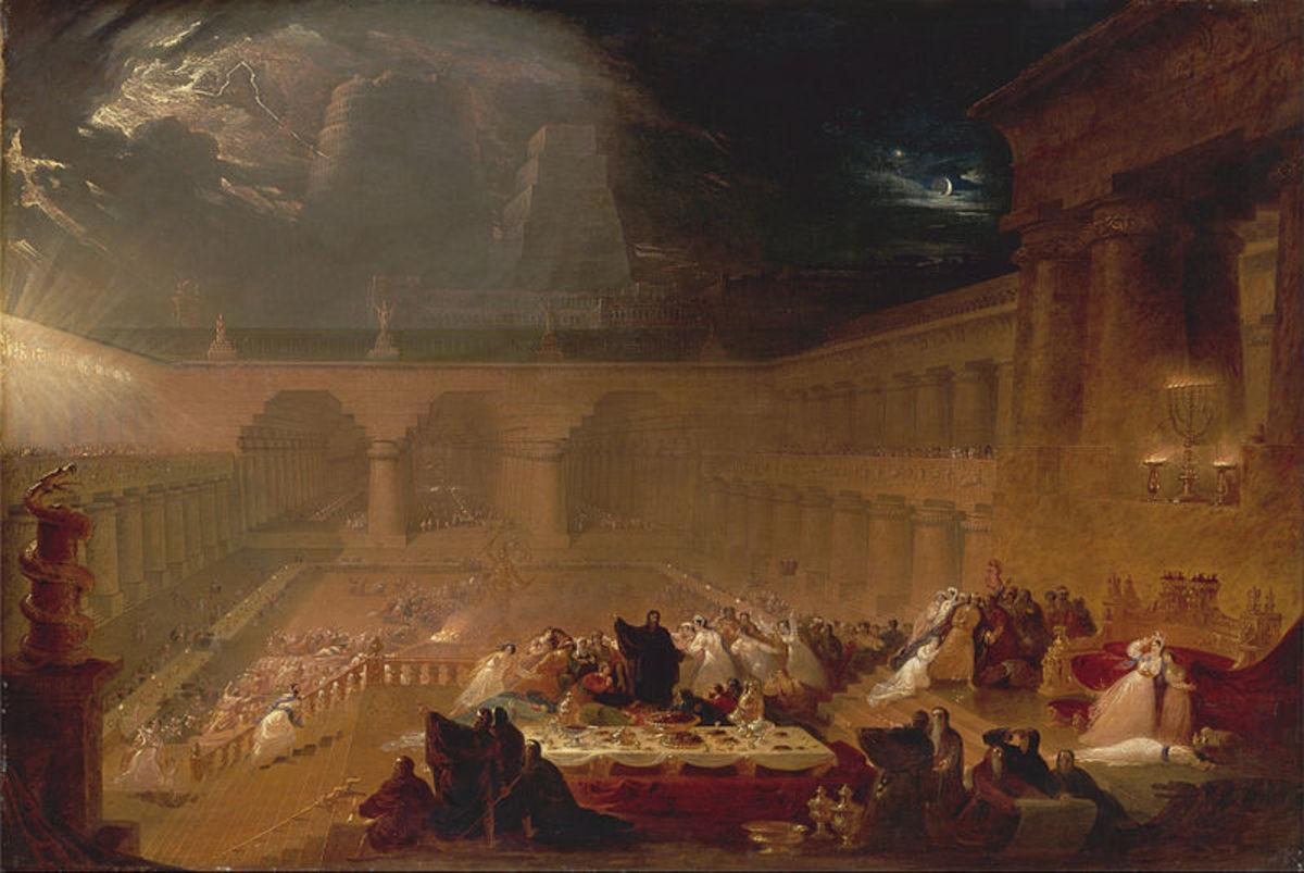 Belshazzar's Feast, John Martin (1789-1854)