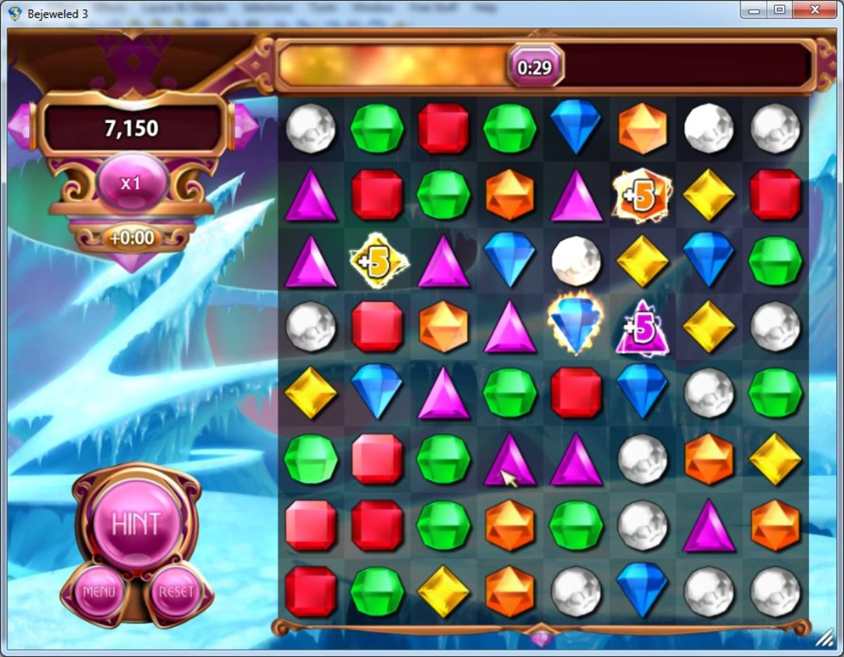 Lightning mode with 3 time gems. Swapping the blue gem in the bottom right corner with the white gem on its left will generate a white star gem.
