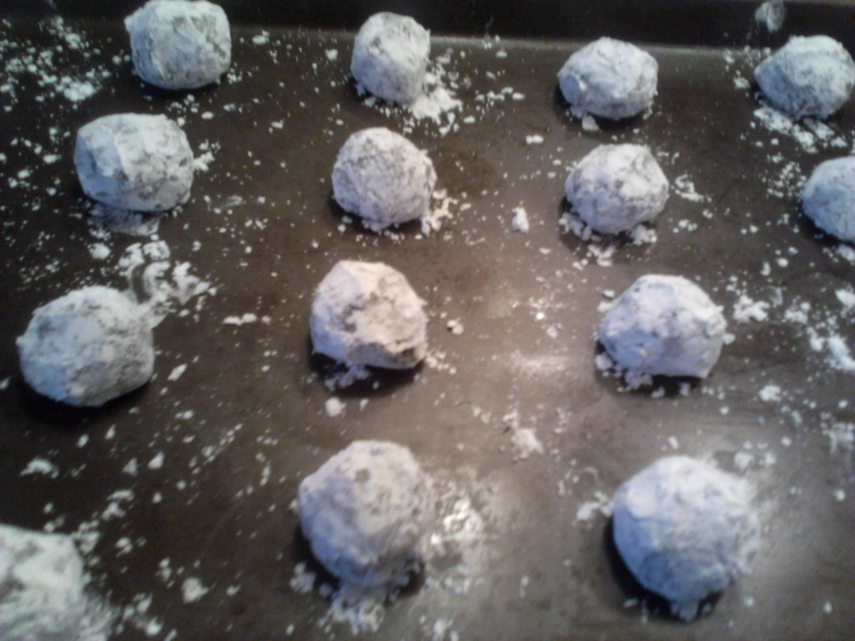 Chocolate Pixies - ready to go in the oven!