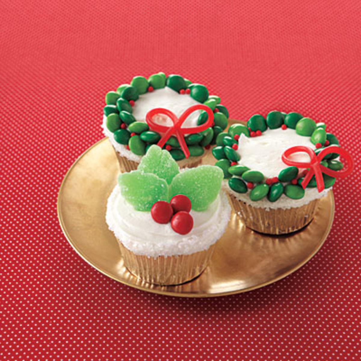 Orange Cupcakes with Homemade Vanilla Frosting