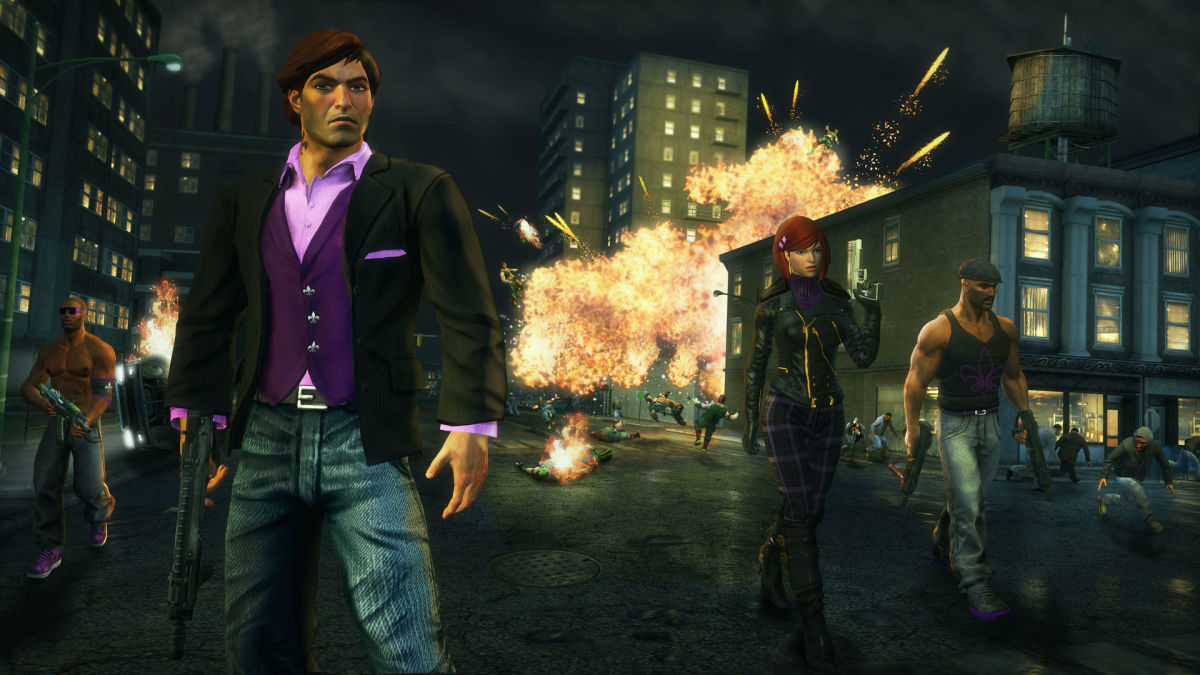 Saints Row: The Third Gameplay