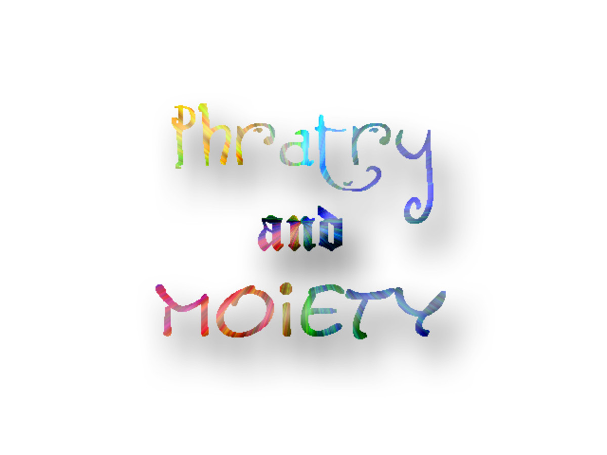 What is Phratry and Moiety