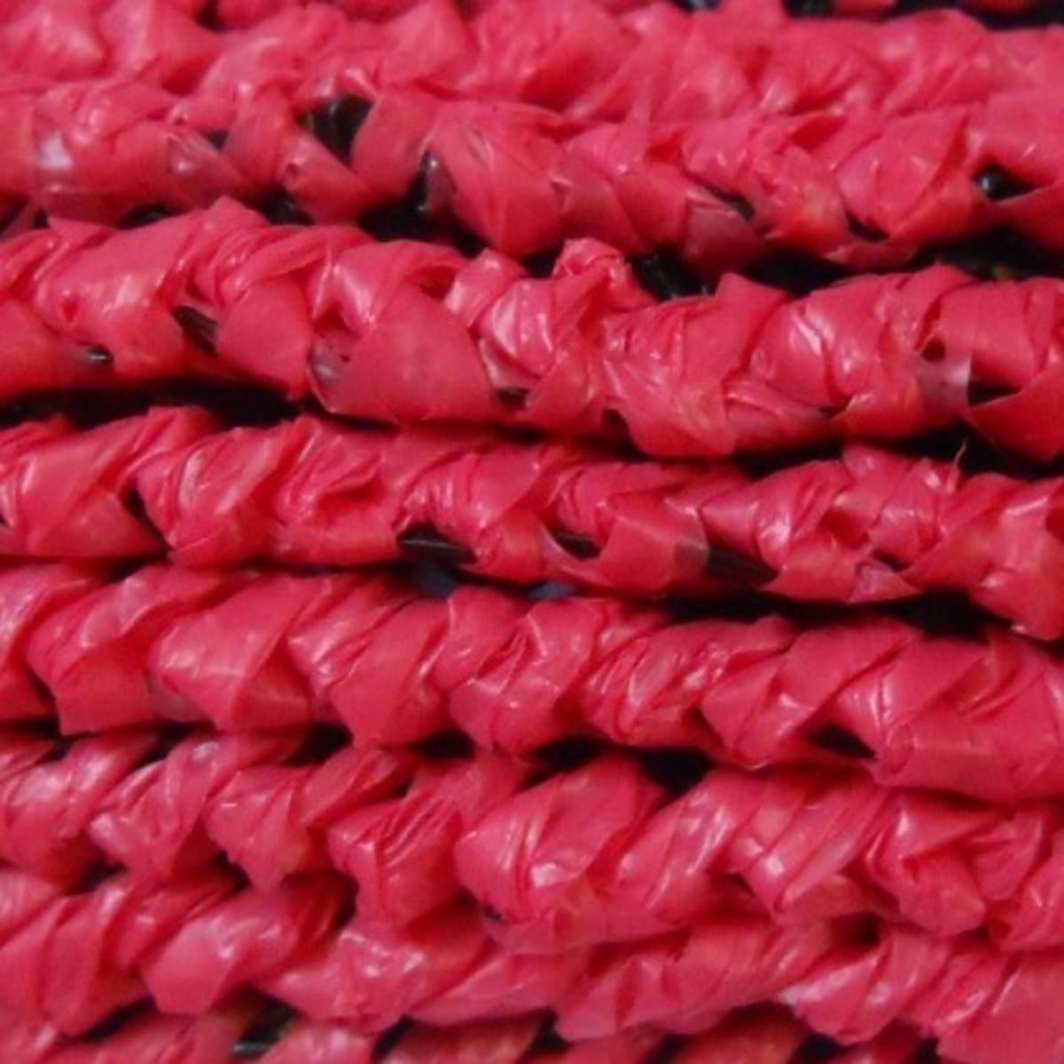 CRAB LINE STITCH PATTERN - Crochet pattern below