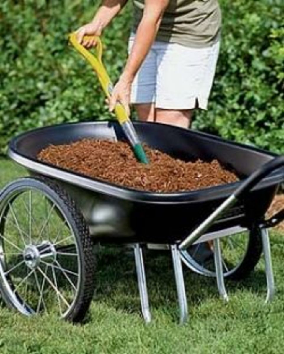 Poly Tough Cart by Gardeners Supply