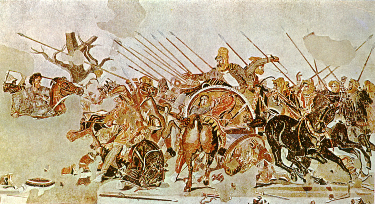 Philoxenus of Eretria, Alexander the Great at the Battle of Issus (first century BC).