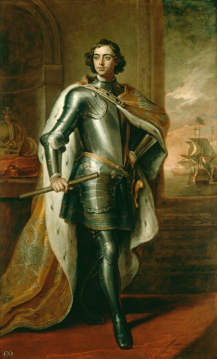 Godfrey Kneller, Portrait of Tsar Peter I (1698).