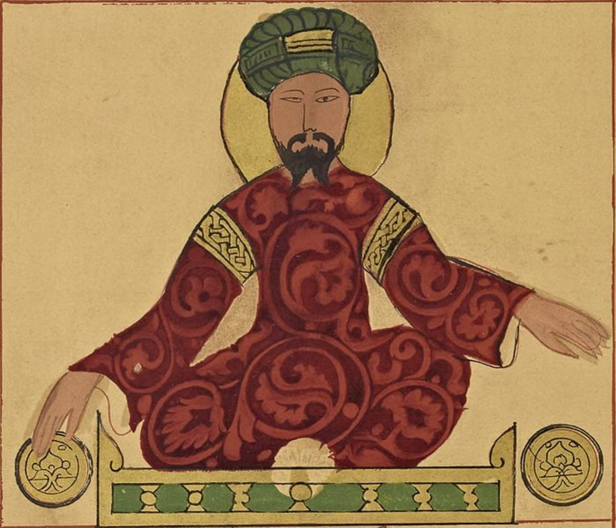 Portrait of Saladin (before A.D. 1185)
