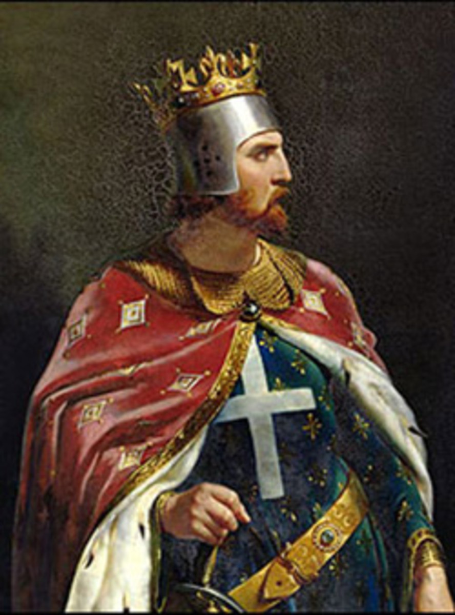 Richard I, King of England.
