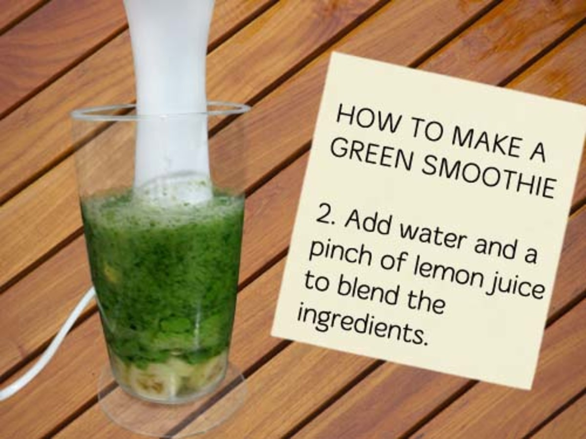 Rev up your smoothie fat-busting power by using no-fat calorie water, green tea or natural juices.