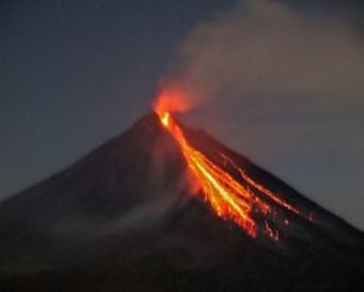 Songs about Volcanoes