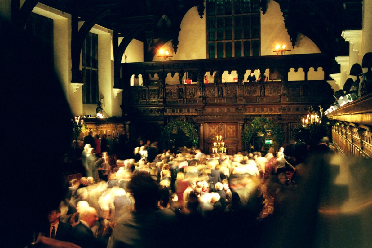 Middle Temple Hall at the Inns of Court