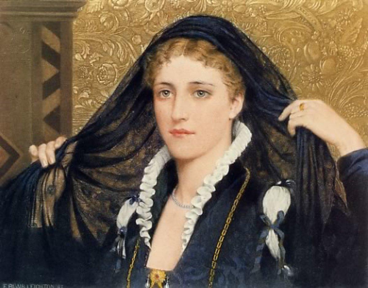 The Countess Olivia, by Edmund Blair Leighton (1853-1922)