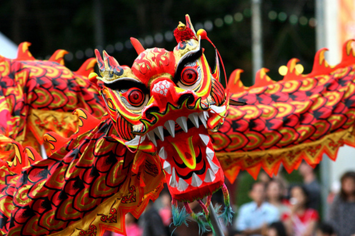 Dragon Dance is also another favorite during Chinese New Year Celebration