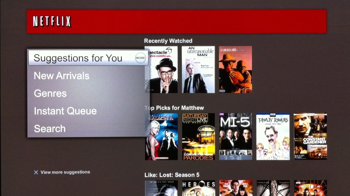 Use a variety of sorting options to find the movie that's right for you.
