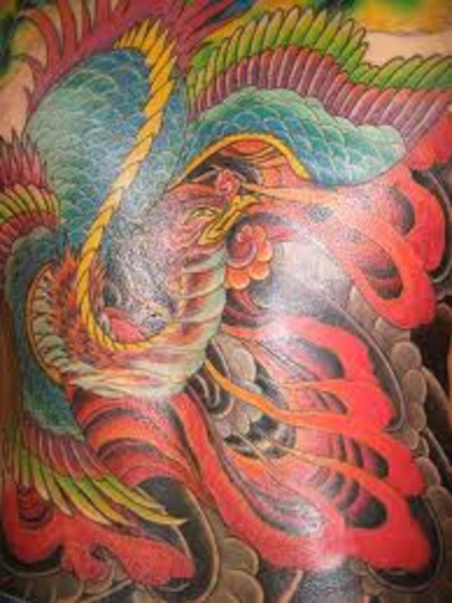 Phoenix Tattoo Designs And Meaning-Phoenix Tattoo Ideas and Pictures- Phoenix Symbolism And History