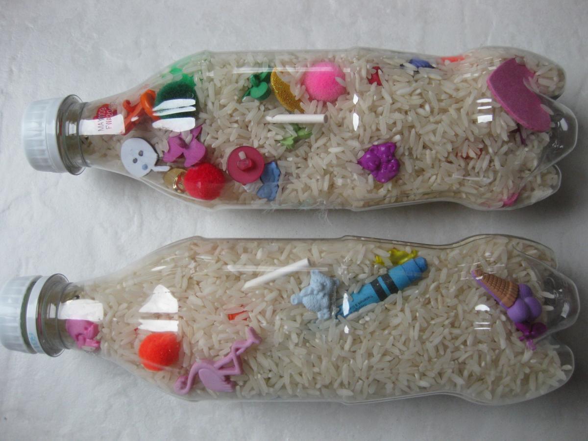 Kids crafts; How to make an I-SPY Bottle