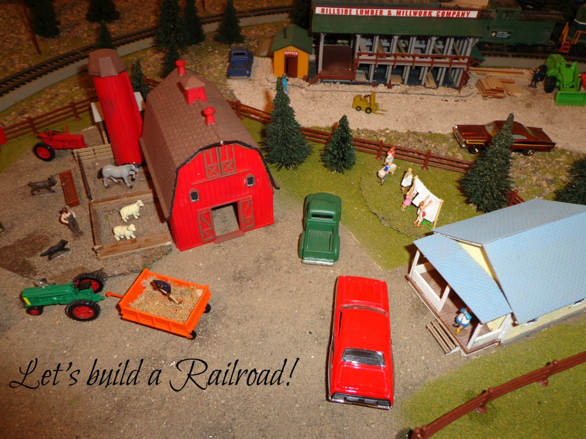 Model Train Layout, A Photographic Guide For Beginners